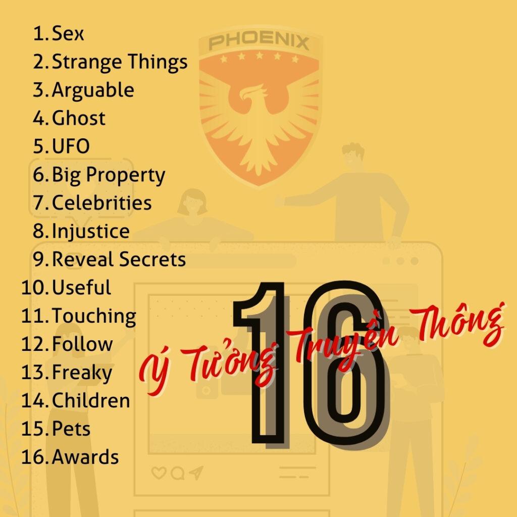 16 Ý Tưởng Truyền Thông Hiệu Quả